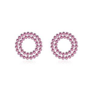 9104 circle superstar accessories jewelry animal earrings