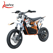 Newly Promotion 350w 500w 36v 48v Kids Electric Dirt Bike With Hub Motor