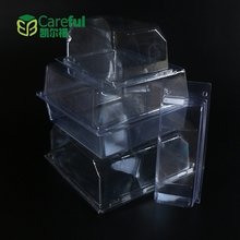 Hot Sale Clamshell Plastic Package Box for golf balls ,Plastic Clamshell Box