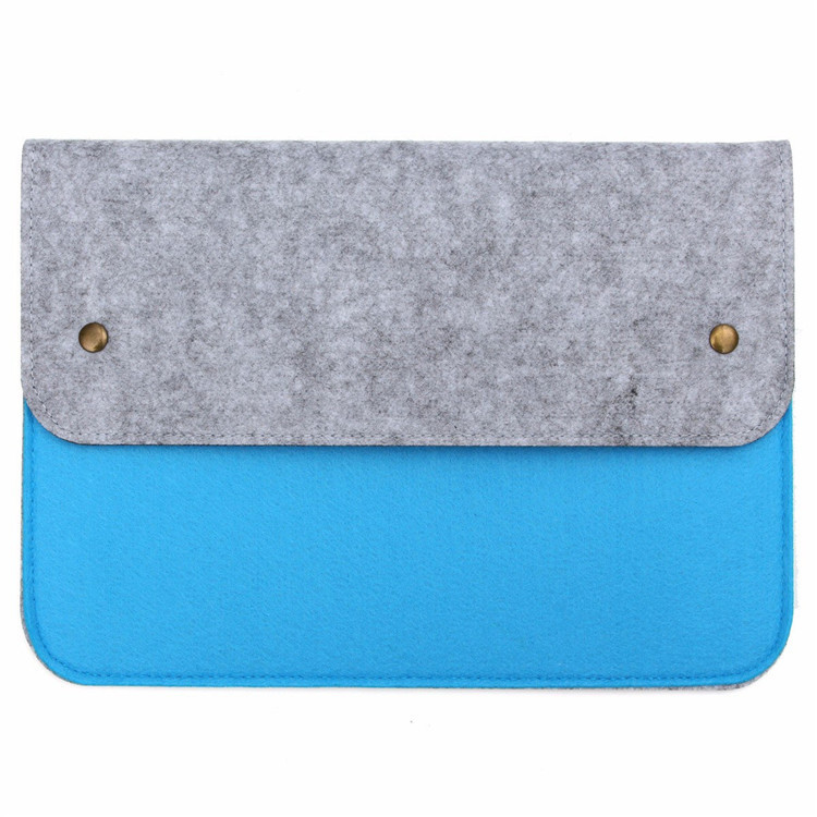 China Supplier 13.3 Inch Polyester Felt Laptop Bag Anti-shock Multi Function Sleeve