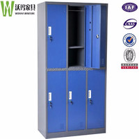 Steel cabinet clothes locker metal closet wardrobes box/ wardrobes cabinet made in China