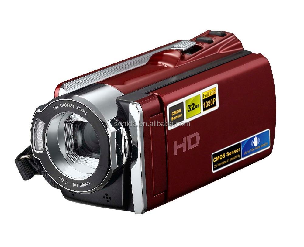 Fabricant fournir caméscopes professionnels 16MP zoom numérique 1920*1080 P OEM & ODM HDV-604S - ANKUX Tech Co., Ltd