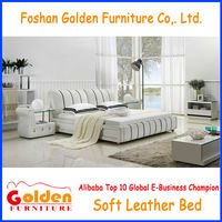G855# Foshan Furniture queen size wooden bed picture
