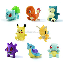 Wholesale custom pokemon plush toy for infant toy