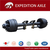 Low-bed Trailer Parts Round Beam 10 Ton Trailer Axle