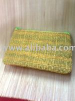 abaca pouch bags
