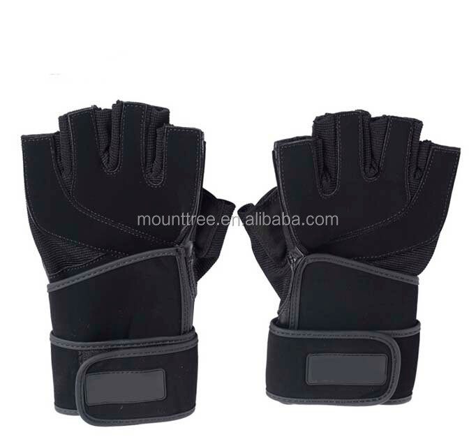 Professional High Quality Half Finger Weight Lifting Slip-Resistant Sports Gloves
