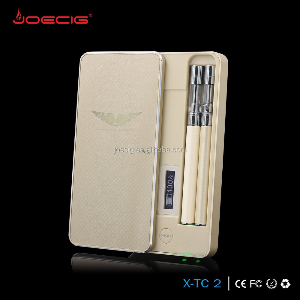 2016 Clearomizer/battery /pcc case OEM available X-TC 2 pcc ecig 1200 mah rechageable case