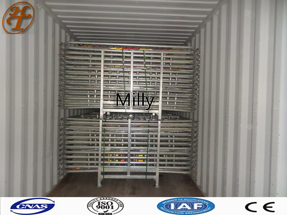 bike rack fence/traffic Modular barricade/ Portable Event Barrier Fence /security barricades