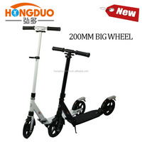 Big PU wheel adult kick scooter