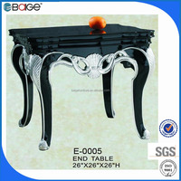 E-0005 Italian Wooden Polyresin End Tables For Middle East arket