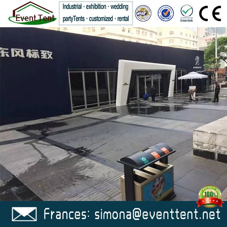 new design inflatable event tent show company logos marquee tent with tunnel structure