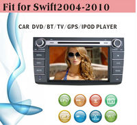 2 din car dvd player tv antenna fit for Suzuki Swift 2004 - 2010 with radio bluetooth gps tv