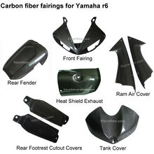 Carbon fiber motorcycle parts for Yamaha r6 fairing