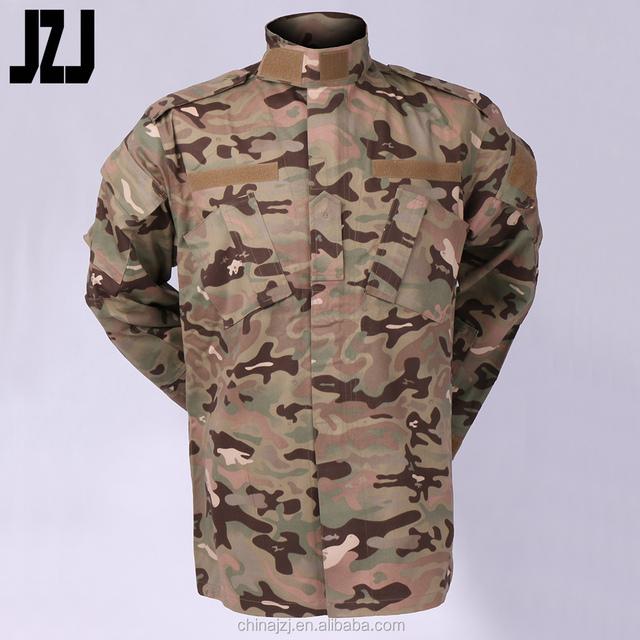 Army Military Woodland Camouflage Pattern Multicam Uniform TC Army Camo Fabric
