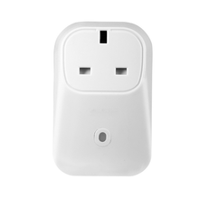 UK standard Wireless Switch Wifi Electrical Plug Socket with white color