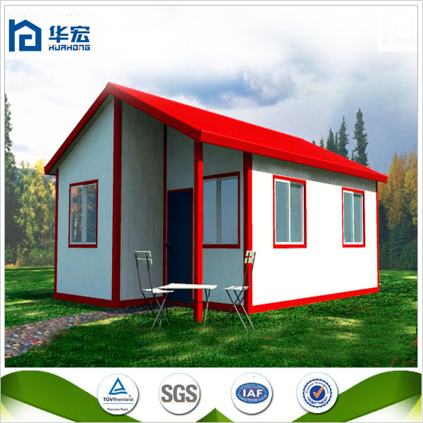 Small beautiful portable SIP Panels double slope modular building