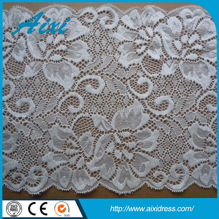 Factory price direct lace material for sale garment accessory