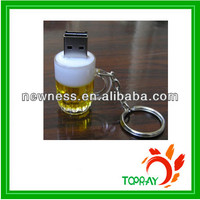 2014 New design draught beer cup USB flash drive promotion gift