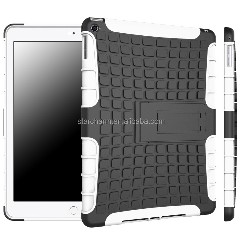 new products custom slim armor case for ipad 6