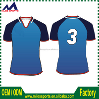 China factory italy ink sublimation printing high quality rugby jerseys for team