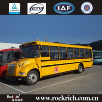 Dongfeng new diesel 52 seat china supplier international school bus