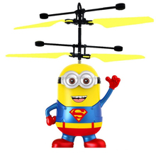 Cheapest Flying Minion Infrared RC Flying Ball Helicopter Flying Toys for kids