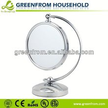 8 Inch Double Sides Compact Mirror With Crystal