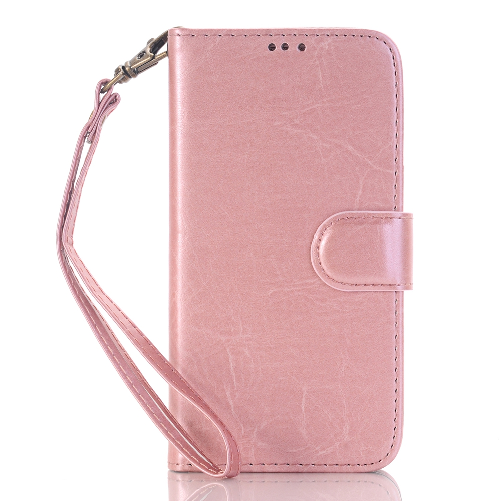 Magnetic clasp pu leather fancy cell phone cover case for samsung galaxy s5