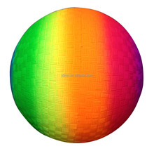 PVC Colorful Rainbow Ball Basketball /Volleyball /Football