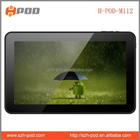 cheapest 10.1 tablet pc android os dual core 512mb ddr 8gb memory 5000mah battery
