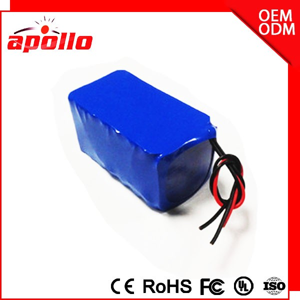 Customized 12V 18AH Lithium Battey Pack 18650 Li-ion Battery 3s7p
