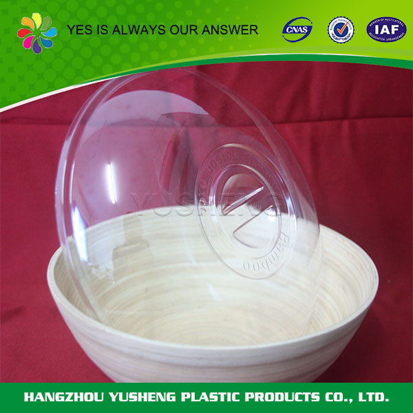 High quality PET biodegradable disposable mixing plastic soup bowl