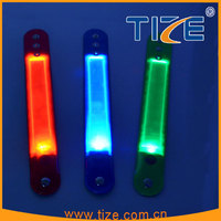 2016 hottest festival gifts pvc wristbands customized TZ-W200 led pvc wristband for kids