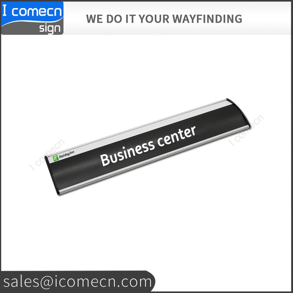 High Grade Illuminated Sliding Door Nameplate Signroom Signoffice