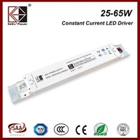Hotsale 50W 500mA slim led power supply with SAA certificate