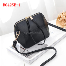 Small Size Plain Color <strong>Fashion</strong> Long Strap College Student Shoulder Bag For Girls