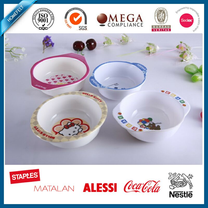 Food Grade 100% Melamine Snack Bowl / Melamine Bowl / Kids Bowl