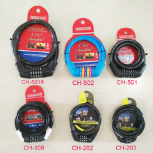 CH-502 High quality combination bicycle lock for bicycle accessories
