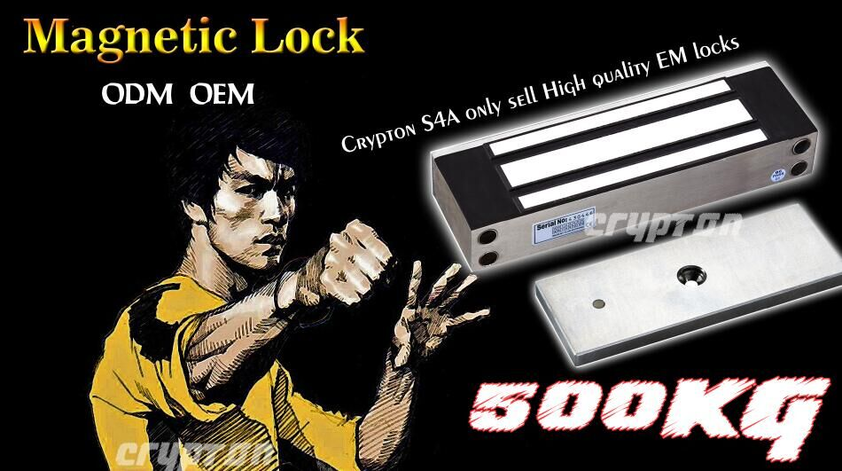 280KG 600lbs Magnetic lock electric lock with delay and signal