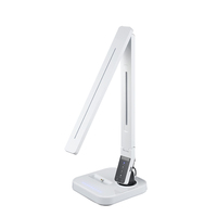 Auto timer dimmable led bed reading light with usb port and iPhone docking station