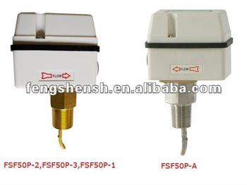 water flow switch stainless steel connector 1/2''-14NPT 3/4''-14NPT 1''-11'1/2''NPT professional