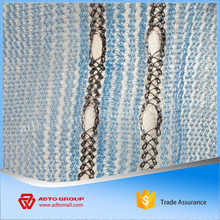 fall protection knotless fan safety net with knitted kyelet for windows