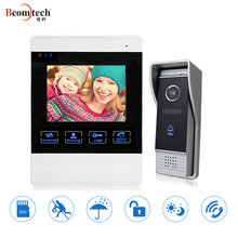 Latest Fashion Highside Digital Wired Video Intercom System / Color Video Doorbell Camera