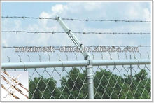 barbed wire brackets/twist and weaving barbed wire/types of barbed wire