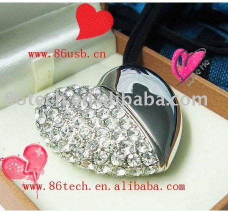 High Quality USB Flash Drives 64mb to 64gb 2.0 Love Heart USB