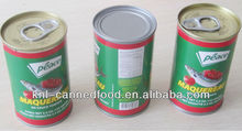 canned jack mackerel in fish tomato sauce