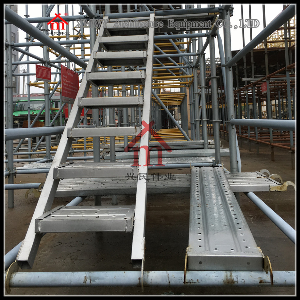 HDG Steel Ladders for Construction with SGS Tested China Supplier