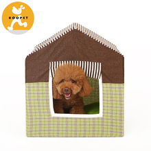 Detachable Fordable Pet Tent Dog Bed Fiberglass Dog House