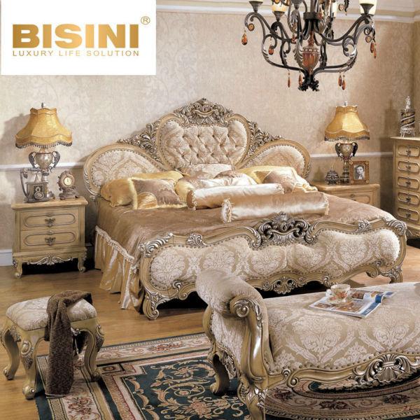 Bisini European Style Luxury Hand Carved Bedroom Furniture Buy